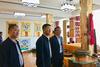 中央民族大學校長黃泰巖一行來甘肅民族師范學院考察交流