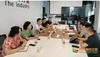 重庆工业职业技术学院副院长徐益带队赴瀚云科技有限公司开展调研