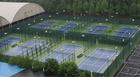 重庆西南大学翻新网球场围网案例