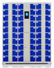 充电智能手机柜丨指纹、条码、人脸、刷卡、密码系统可选丨20门丨30门丨40门丨50门丨60门可选