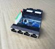 漢源高科百兆2光3電4電煤礦用光纖交換機光纖收發器煤礦用光端機