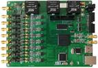 高精度以太网GPS同步数据采集卡 8路32位4KS 4路DA 8路DI 8路DO