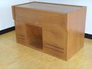 琴台式木纹转印多媒体钢制讲台