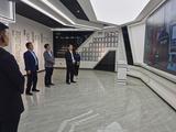 黃驊市市委書記朱春燕等領導蒞臨威成亞黃驊現代生產基地參觀指導