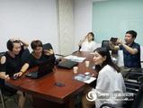 歡迎江西服裝學院各位領導參觀北京歐雷