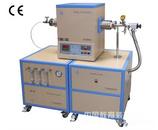 1700℃单温区三通道混气CVD系统-GSL-1700X-F3LV