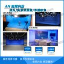 安尼兴业新闻栏目虚拟演播室电视台虚拟三维演播室校园演播室