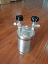 500ml气体取样钢瓶/气体取样器