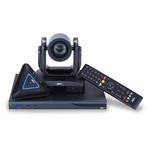 圆展AVer高清视频会议终端EVC950多点内置MCU系列 兼容华为 宝利通 思科视频会议系统 远程视频会议系统 欢迎来电恰谈