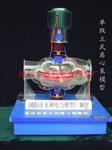 单级双吸立式离心泵模型