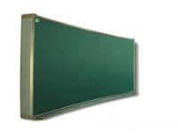 弧形黑板/绿板/白板/A型 教学黑板 磁性黑板 移动黑板
