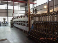 气动推舟式十五管电热还原炉