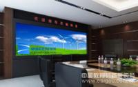 瑞屏首家推出的高清智能交互式DLP激光无缝大屏幕可实现人屏互动