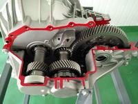 新能源汽车驱动电机解剖展示台(比亚迪E6)