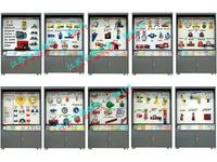 JY10-78型芯片控制CD解說《機械原理》陳列柜