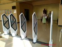 鴻泰安HTA-EM-04D亞克力學校圖書館防盜門,雙通道閱覽室圖書防盜器