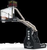 舒華品牌  場地設施  SH-P6401電動液壓籃球架(玻璃籃板)
