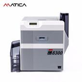 Matica XID8300热升华再转印证卡打印机 政企人员证校园卡会员卡通行证出入证居住证卡