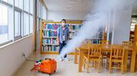 校园消杀|校园消毒杀菌服务方案|全馆消杀服务|开馆消杀|瑞兽小超分子悬浮消毒机