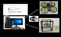 硬件在回路半實物實時仿真四旋翼飛行控制實驗平臺(?。?LINKS-ES-UAV-01