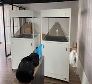 蚁利3d全息展示柜,全息教学幻影成像,360全息投影柜科教用,科普全息展览展示设备,3D全息投影展示柜生产厂家提供供应服务