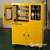 实验室小型平板硫化机 PE PP PVC塑料压片机 试验型模压机