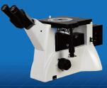 数码倒置三目明暗场无限远金相显微镜