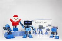 IronBot 可编程教育机器人套件 人工智能机器人套件 STEAM创客教育 带课程