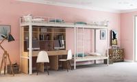 学生组合公寓床找铭仁家具厂家,厂家直销更具性价比