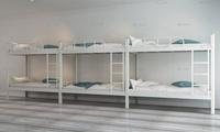 想知道双层铁架床价格,致电铭仁家具咨询,厂家直销更实惠