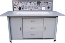 SB-745通用智能型電工、電子、電拖(帶直流電機)實驗與技能實訓考核臺