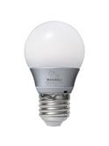 馬歇爾磁星自然光臺燈節能燈泡e14e27螺口球泡暖白球泡兩只裝