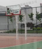 双臂篮球架
