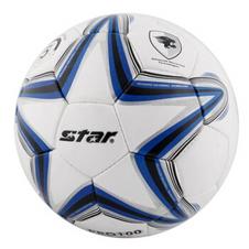 【世达-Star】天然草用球 耐磨合成皮革PU5号手缝训练比赛用足球 SB5324