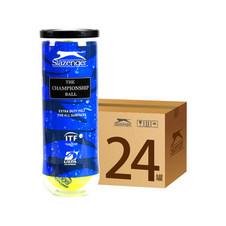 史莱辛格【Slazenger】340823 网球 温网官方用球 训练网球 胶罐三粒装 一箱24筒