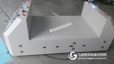 B型500KG双向承载式AGV小车/无人搬运车/山东自动导引车
