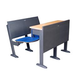 联体桌椅(钢网)