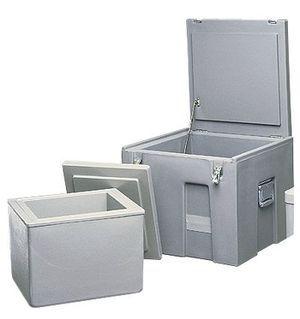 大容量干冰储存箱