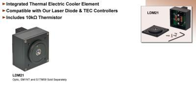 TEC-Cooled Laser Diode Mounts