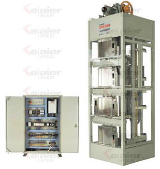 KLR-702VVVF双控透明教学实训考核电梯