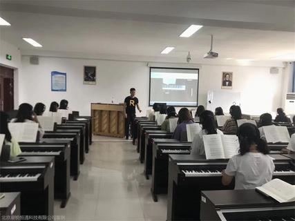 琴房成套教学管控 学校琴房上下课管控 配套教学