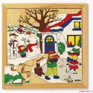 幼龄四季系列-冬天