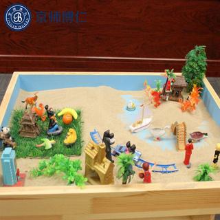 厂家直销心理沙盘游戏沙具1200件 京师博仁心理咨询室沙盘模型厂家