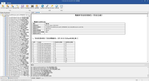 济南某一卡通管理平台数据库修复成功案例