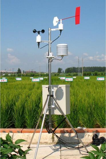 便攜農業氣象設備監測原理