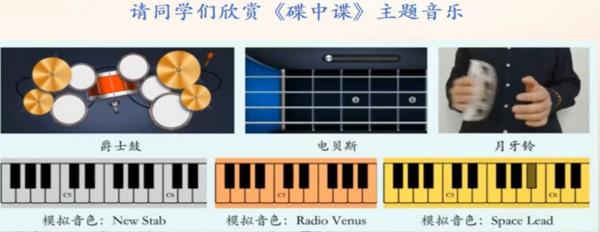 """北京市石景山学校:""""碟中碟""""主题音乐教学"""