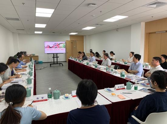 上海交通大学图书馆、院系分馆(资料室)联席座谈会顺利召开