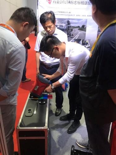 欧美大地携DELTA逆反射仪亮相上海国际智能交通展