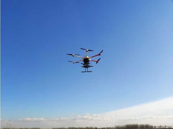 安洲科技参与空天院东营黄河口地区联合观测实验