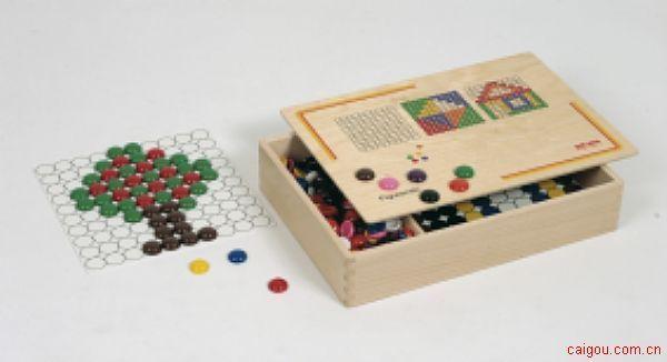 棋子填色游戏